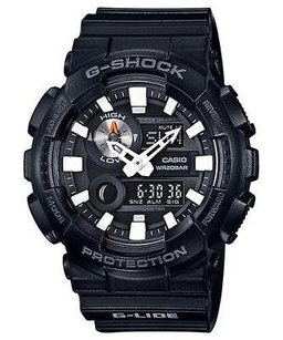 G-Shock G-shock Gax100b-1a G-lide Watch Analog Digital All Black World Time Mens