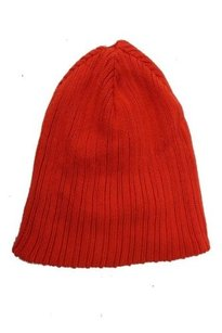 Gap Gap Orange Knit Beanie Cap One