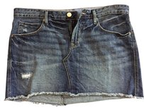Gap Jean Mini Frayed 1969 Mini Jean Jean Short Jean 1969 Jean Distressed Mini Denim Denim Mini Skirt Blue