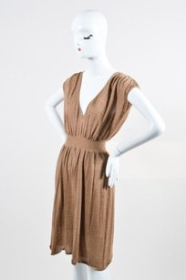 Giambattista Valli short dress Brown Tan on Tradesy