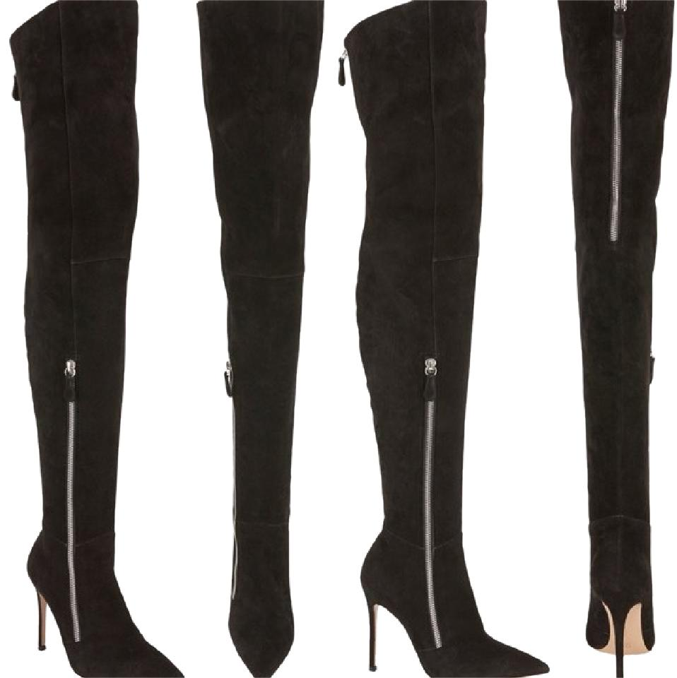 Gianvito Rossi Black Thigh High Boots/Booties Size US 8 Regular (M, B)