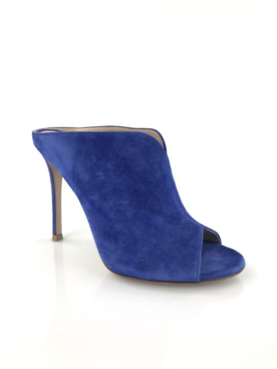 gianvito rossi rossi rossi courbe bleue mule bottes / chaussures ordinaires (taille nous 6.5 m, b) 978cf3