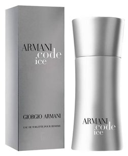 Giorgio Armani ARMANI CODE ICE by GIORGIO ARMANI EDT Spray for Men ~ 1.7 oz / 50 ml
