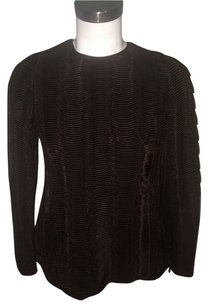 Giorgio Armani New Top Brown