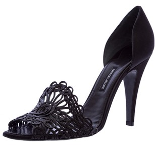 Giorgio Armani Womens Black Pumps