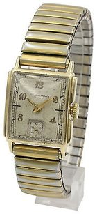 Girard-Perregaux Vintage Girard-peregaux 14k Yellow Gold Stainless Steel Watch
