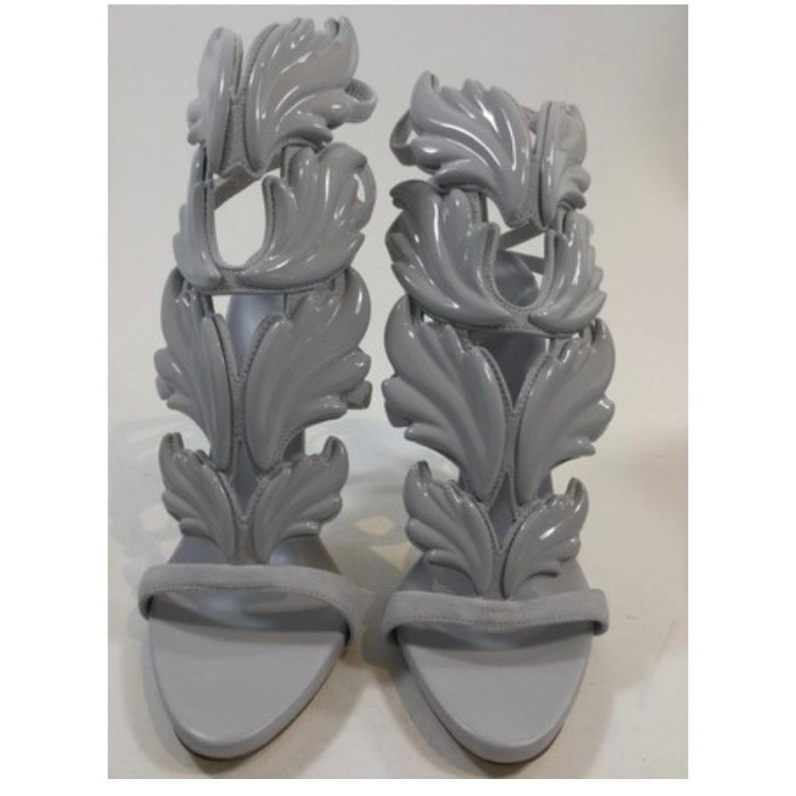 Giuseppe Zanotti Grey Cruel Summer Light Sandals Size US 6 Regular (M, B)