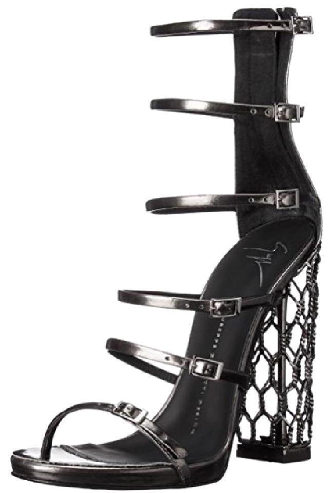 Giuseppe Zanotti Metallic Caged Pumps Size US 9 Regular (M, B)