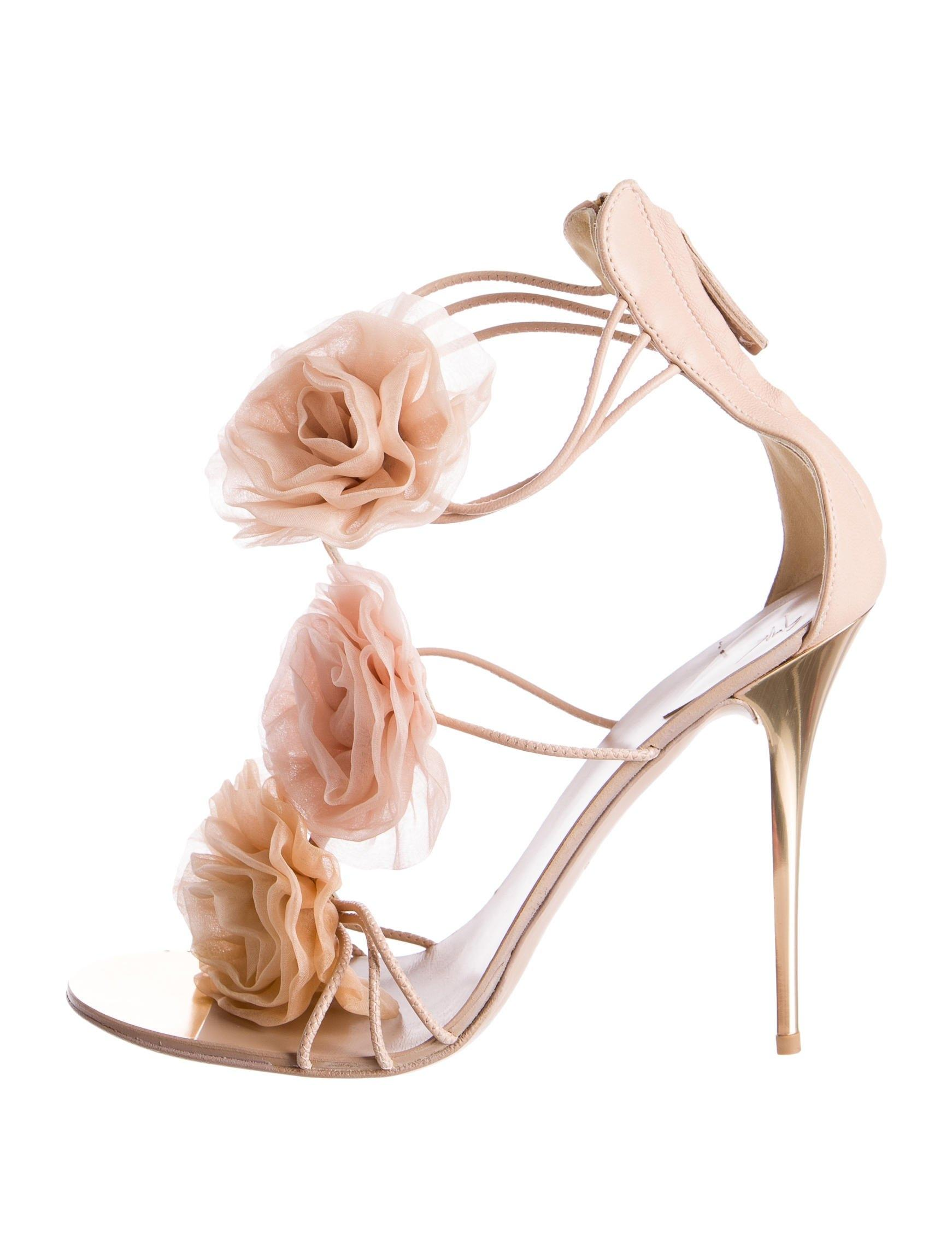 Giuseppe Zanotti Floral Multistrap Sandals visit new cheap price 0ut78wJ