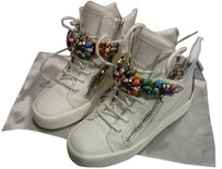 Giuseppe Zanotti White leather Athletic