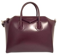 Givenchy Antigona Satchel in Burgundy