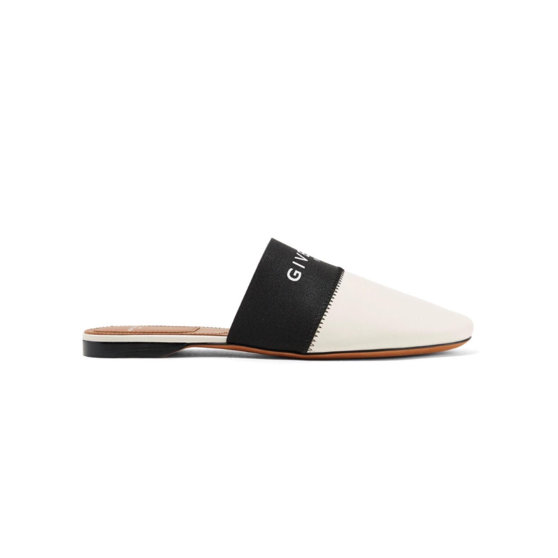 comfortable for sale free shipping supply Givenchy Bedford flat logo slippers 0CN4Ljvwx