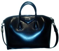 Givenchy Calfskin Classic Casual Satchel in Black