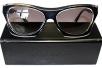 Givenchy Givenchy Black Crystal/ Smoke Grey Gradient Yellow Sunglasses
