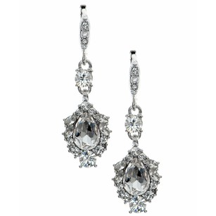 Givenchy Givenchy Crystal Teardrop Earrings