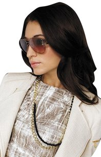 Givenchy Givenchy SGV 464 0R80 Brown Shaded Aviator Sunglasses