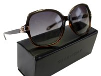 Givenchy Givenchy SGV 875 0D83 Brown /Smoke Shaded Sunglasses