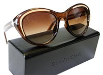 Givenchy Givenchy SGV 931 0GEP Cat Eye Sunglasses - Brown