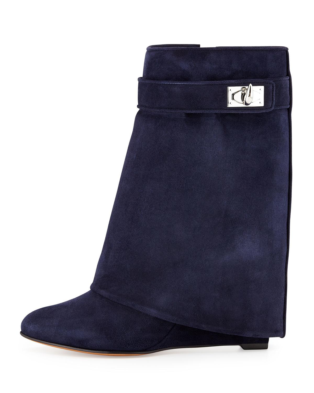 Givenchy Suede Platform Booties fake online discount finishline xoq9yXDiXL