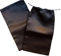 Givenchy pair of new authentic black shoe dust bags