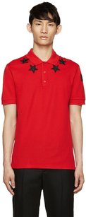 Givenchy Men's Polo Men's Polo Star Clothing T Shirt Red