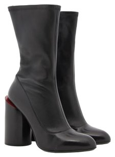 Givenchy Sculpted Heel Black Boots