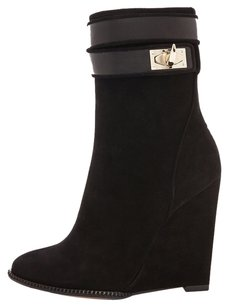 Givenchy Shark Tooth Suede BLACK Boots