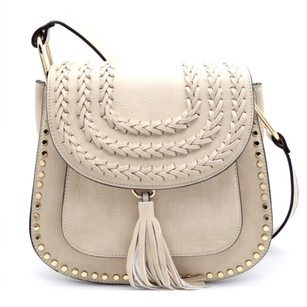 GlamVault Studded Tassels Chloe Faux Leather Cross Body Bag