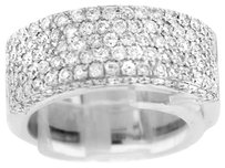 GLK 18K WHITE GOLD 1.488CT DIAMOND RING SIZE 7