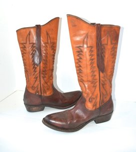 Golden Goose Deluxe Brand Cowboy Western Boot brown Boots