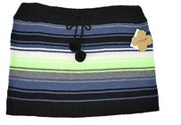 Grane Womens Combo Cable Knit Size Skirt Black