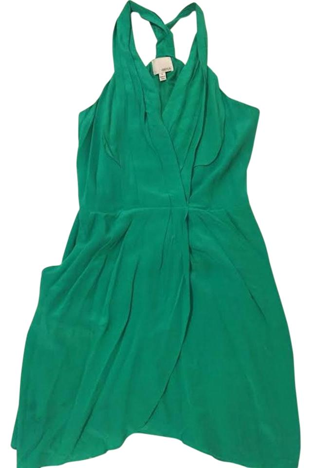 fitted halter above the knee dresses