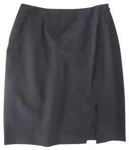 Gucci 38 Black Fitted Yh Skirt