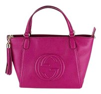 Gucci Shoppers Tote in pink