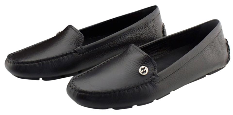 C78lqipfvVLoafer leather -woven details GG logo