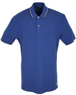 Gucci Men's Polo Men's Polo T Shirt Blue