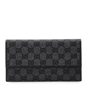 Gucci Canvas Flap Wallet