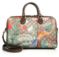 Gucci Canvas Tian Gg Large Satchel in Multi