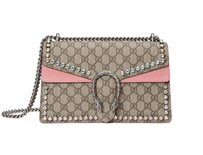 Gucci Dionysus Small Crystal Pink Shoulder Bag