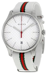 Gucci G-Timeless Black Dial Stainless Steel Men's Watch YA126322
