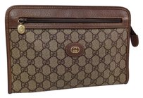 Gucci Gg brown Clutch