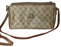 Gucci Gg Vintage Pink Monogram Tote Cross Body Bag
