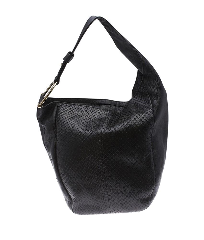 Gucci Greenwich Hobo Black Python/Leather Shoulder Bag ...