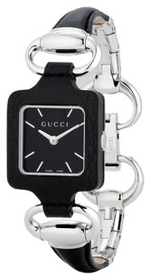 Gucci Gucci 1921 Series Black Leather Bangle Ladies Watch