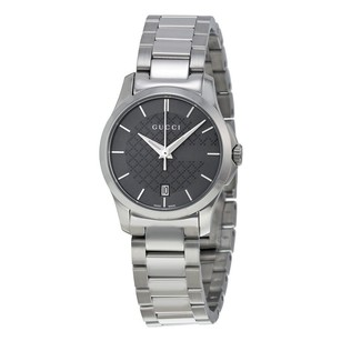 Gucci Gucci G-Timeless Grey Dial Stainless Steel Ladies Watch