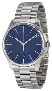 Gucci GUCCI G-Timeless Large Blue Diamond Pattern Dial Steel Men's Watch
