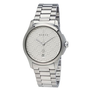 Gucci Gucci G-timeless Silver Dial Stainless Steel Unisex Watch