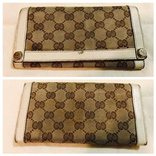 Gucci Gucci GG Monogram Canvas Wallet