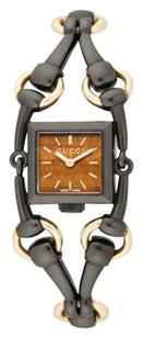 Gucci Gucci Signoria Black PVD Stainless Steel & Goldtone Watch