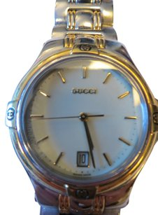Gucci Gucci Unisex Two Tone Stainless Steel Watch